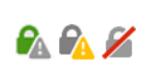 значки в строке браузера Firefox